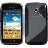 Silicone Case for Samsung Galaxy Ace 2 S-Style gray