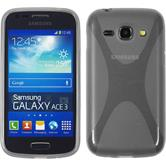 Silicone Case for Samsung Galaxy Ace 3 X-Style gray
