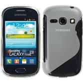 Silicone Case for Samsung Galaxy Fame S-Style transparent