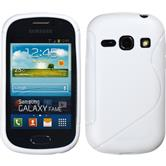 Silicone Case for Samsung Galaxy Fame S-Style white