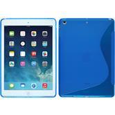 Silikon Hülle iPad Air S-Style blau