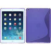 Silicone Case for Apple iPad Air S-Style purple