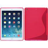 Silikon Hülle iPad Air S-Style pink