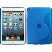 Silikon Hülle iPad Mini 3 2 1 S-Style blau