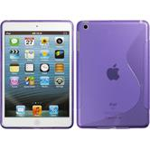Silikon Hülle iPad Mini 3 2 1 S-Style lila