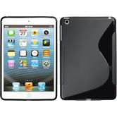 Silicone Case for Apple iPad Mini 3 2 1 S-Style black