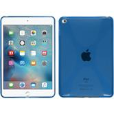 Silikon Hülle iPad Mini 4 X-Style blau