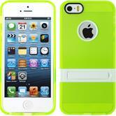 Silikon Hülle iPhone 5 / 5s / SE  grün