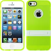Silikonhülle für Apple iPhone 5 / 5s / SE  grün