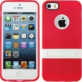 Silikon Hülle iPhone 5 / 5s / SE  rot