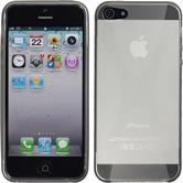 Silikon Hülle iPhone 5 / 5s / SE X-Style grau