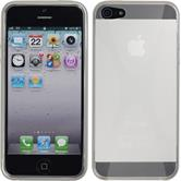 Silicone Case for Apple iPhone 5 / 5s X-Style transparent