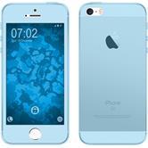 Silikon Hülle iPhone 5 / 5s / SE 360° Fullbody hellblau Case