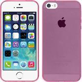 Silikon Hülle iPhone 5 / 5s / SE Slimcase pink