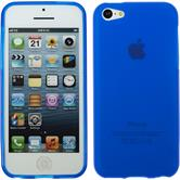 Silicone Case for Apple iPhone 5c matt blue