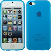 Silicone Case for Apple iPhone 5c matt light blue