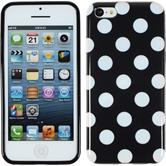 Silikon Hülle iPhone 5c Polkadot Design:01