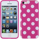 Silikonhülle für Apple iPhone 5c Polkadot Design:03