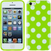 Silicone Case for Apple iPhone 5c Polkadot Design:05