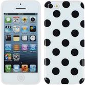 Silicone Case for Apple iPhone 5c Polkadot Design:06