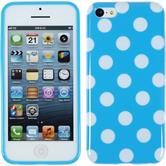 Silikonhülle für Apple iPhone 5c Polkadot Design:08