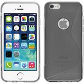 Silikonhülle für Apple iPhone 6s / 6 S-Style grau