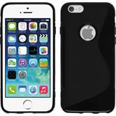 Silikon Hülle iPhone 6s / 6 S-Style schwarz