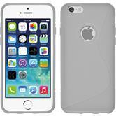 Silikon Hülle iPhone 6s / 6 S-Style weiß
