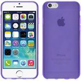 Silikonhülle für Apple iPhone 6s / 6 transparent lila