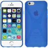 Silikon Hülle iPhone 6s / 6 X-Style blau