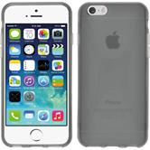Silikon Hülle iPhone 6s / 6 X-Style grau