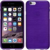 Silikonhülle für Apple iPhone 6s / 6 brushed lila