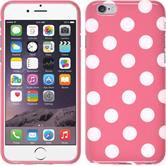 Silikon Hülle iPhone 6s / 6 Polkadot Design:02 + 2 Schutzfolien