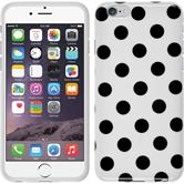 Silikon Hülle iPhone 6s / 6 Polkadot Design:06