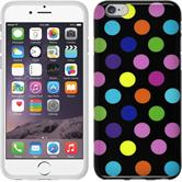 Silicone Case for Apple iPhone 6 Polkadot Design:13