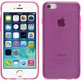 Silikonhülle für Apple iPhone 6s / 6 Slimcase pink