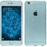Silikon Hülle iPhone 6s / 6 360° Fullbody hellblau