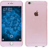 Silikon Hülle iPhone 6s / 6 360° Fullbody rosa