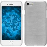 Silikon Hülle iPhone 7 brushed weiß