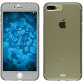 Silikon Hülle iPhone 8 Plus 360° Fullbody grau
