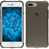 Silikon Hülle iPhone 8 Plus Shock-Proof grau