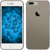 Silikon Hülle iPhone 7 Plus Slimcase grau