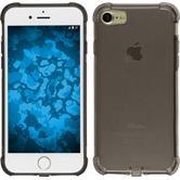 Silikon Hülle iPhone 7 Shock-Proof grau