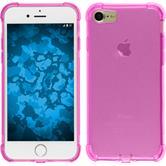 Silikonhülle für Apple iPhone 7 Shock-Proof rosa