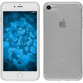 Silikon Hülle iPhone 7 transparent weiß