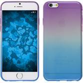 Silikon Hülle iPhone SE Ombrè Design:04 + 2 Schutzfolien