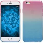 Silikon Hülle iPhone SE Ombrè Design:06 + 2 Schutzfolien