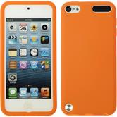 Silicone Case for Apple iPod 5 matt orange