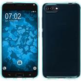 Silikon Hülle Zenfone 4 Max ZC554KL transparent türkis Case