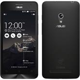 Silikon Hülle Zenfone 5 Slimcase clear + 2 Schutzfolien